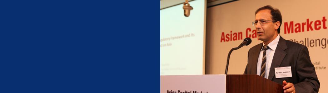 Prof. Moshirian at ADB book launching